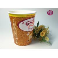 Wholesale 32oz Disposable Enamel French Fries Containers With Flexo Print from china suppliers