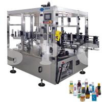 Quality Automatic Self Adhesive Bottle Labeling Machine For Glass Plastic Round Bottles for sale
