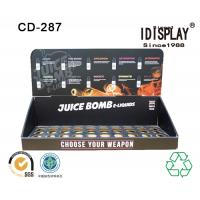 Wholesale Retail Store E Liquid Juice Cardboard Table Top Displays , Cigarette Cardboard Display Racks Cabinet from china suppliers