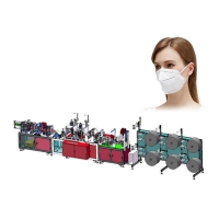Wholesale Ultrasonic Non Woven Anti Pollution Mask Making Machine from china suppliers