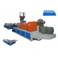 Wholesale 2016 New Plastic PVC Roofing Sheet Making Machine / Plastic Sheet Extruder  For Workshop , Warehouse from china suppliers