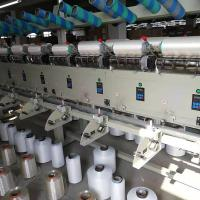China Automatic  Silk Yarn Twisting Machine Multiple Spindles Electric Driven Type on sale
