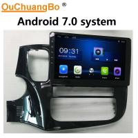 Wholesale Ouchuangbo car audio gps navi android 7.0 for Mitsubishi outlander 2018 support bluetooth BDDR3 1GB 1080 Video from china suppliers