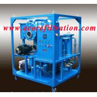 Wholesale High Vacuum Transformer Oil Purification Dehydration Systems from china suppliers