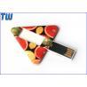 Geometry Triangle Card Swivel USB Flash Drive 2GB 4GB 8GB 16GB 32GB for sale