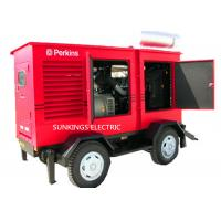 Wholesale 250KVA Trailer Mounted Mobile Diesel Generators 400V Voltage AC Three Phase Backup Power from china suppliers