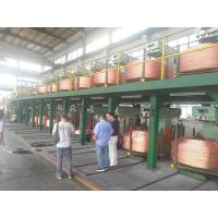 China Copper Rod 6mm-60mm Wire And Cable Machinery / Upward Casting Machine for sale