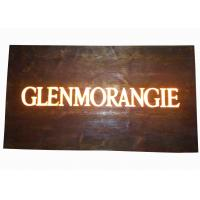 Buy cheap Custom Resin Illuminated Wooden Signs , Wall Mounted Personalized Bar Signs from wholesalers