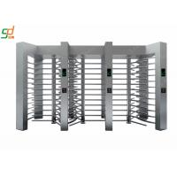 Wholesale Fingerprint Stainless Steel Turnstile Full Height Systems IC / ID / Barcode Control from china suppliers