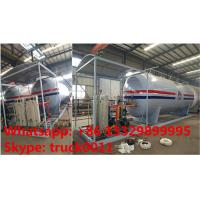 Buy cheap hot sale! 25tons skid lpg gas station with 5 digital weigthing scales for gas cylinders, skid lpg gas refilling plant from Wholesalers