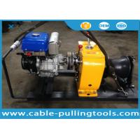 China 8T Petrol Powered Winch For Cable Pulling Project Overhead Line Transmission on sale