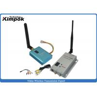 800m CCTV Wireless Video Transmitter 2.4Ghz FPV Sender With 12 Channels