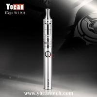 Wholesale 100% Original Marketable wax e cig atomizer Yocan EXgo W1 heating elements made in the USA 510 wax atomizer from china suppliers