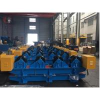 Wholesale 40T Vessel Pipe Welding Rotator With Rubber Roller , Pipe Rollers for Welding High Speed from china suppliers