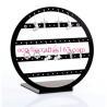 POP acrylic jewelry display stand plexiglass earring display rack for sale