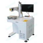China fiber laser marking machine for metal marking 20w/30w/50w desktop Raycus & IPG laser source for sale