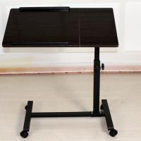 Small Rolling Adjustable Laptop Table Tiltable Tabletop Desk TV Stand DX-BJ17 for sale