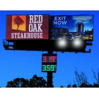 Wholesale IP65 Outdoor DIP Dot Pitch 10mm Led Advertising Displays / Outside Full Color Led Signs from china suppliers