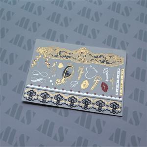Wholesale Gold glitter tattoo, tattoo flash, sticker tattoo, shimmer tattoo from china suppliers