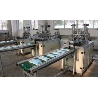 Wholesale Horizontal three Layers Non Woven Face Mask Making Machine from china suppliers