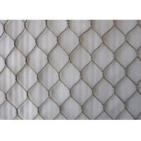 China Rope Structure 7x19 Inter Woven Type Stainless Steel Rope Mesh For Animal Cages on sale
