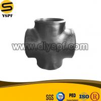 Wholesale ASTM A234 WPB ASTM A420 WPL6 Carbon Steel Butt Welding Straight Cross from china suppliers