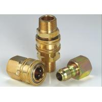 Wholesale Anti Leakage High Flow Quick Disconnect Hydraulic Coupling For Steam Washers from china suppliers