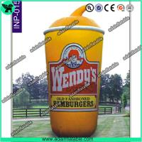 Wholesale 5m Oxford Cloth Outdoor Giant Inflatable Cup Model with Print for Promotional from china suppliers