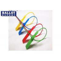 Wholesale Tamper proof Plastic Security Seals For Ballot Box 25KG Tensile Strength from china suppliers