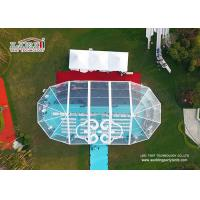China Aluminum and PVC Multi sides Tents Used For Outdoor Wedding Party , Large Events Tents on sale