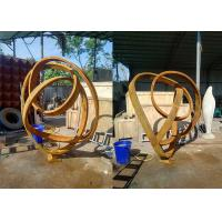 Wholesale Garden Public Decoration Corten Steel Garden Sculpture Large 120cm Height from china suppliers