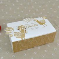 Wholesale Logo Printed Popcorn Chicken Box , Disposable Paper Box For Fast Food from china suppliers