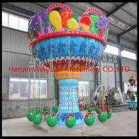 Wholesale ISO 9001 and CE approved fun amusement park fruit flying watermelon chair rides from china suppliers