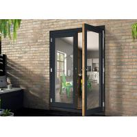 Wholesale Aluminium Casement Door Powder Coating White / Black For Housing OEM from china suppliers