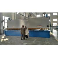 Buy cheap Sheet Manual Hydraulic Guillotine Shear 6.5M Long Cutting Thickness 13mm from Wholesalers