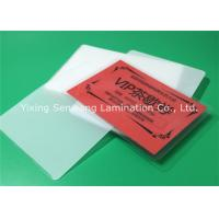 Wholesale Round Corner Hot Lamination Film , Moisture Proof Laminating Sleeves Pouches from china suppliers