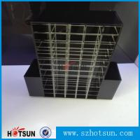 Quality High clear customized acrylic spinning lipstick holder rotatable makeup organizer for sale