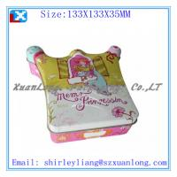 Wholesale special shape candy/chocolate tin box from china suppliers
