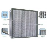 Wholesale Deep-pleat Hepa filter for clean room from china suppliers