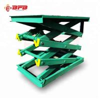 Wholesale Parking system Stationary Scissor lift table with 1000kg from china suppliers