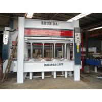Quality Furniture Making Automatic Woodworking Machinery Hydraulic Wood Press 8 Layers for sale