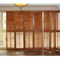 Wholesale Stained Plantation Exterior Decorative Adjustable Louver Window Shutter Doors from china suppliers