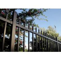 Diplomat steel 2100high road steel garrison fence Panels for wrought iron fence/steel fence for sale