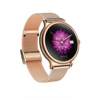 Wholesale L10 Ladies Smart Watch Waterproof Health round heart rate fitness tracker metal shell spo2 oxygen watch from china suppliers