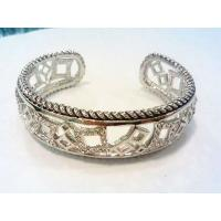 Wholesale (B-88)2015 New Style Women's Jewelry Pave Star High Quality Cubic Zircon Cuff Bracelet from china suppliers