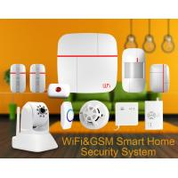 Wholesale Intelligent Wireless Detector Alarm Video Monitor Dual Network Wireless Intruder Alarm from china suppliers