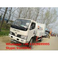 Buy cheap 2017s new design 2.5tons mobile domestic propane gas dispensing truck for retail, mobile lpg gas truck for gas cylinders from Wholesalers