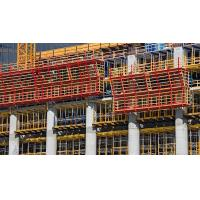 Anti corrosion Concrete Wall formwork scaffold , construction formwork with H20 Timber Beam for sale