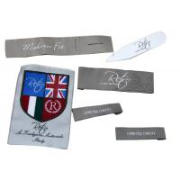 Wholesale Customized Clothing Woven Labels,Iron On Personalized Garment Label from china suppliers