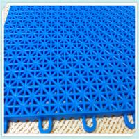 China excellent quality PP suspended interlocking sports flooring mat on sale